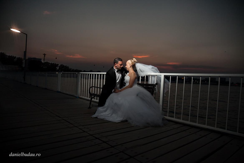 Sedinta foto dupa nunta la mare