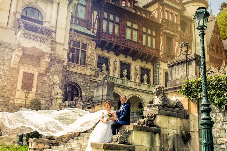 Fotografii nunta after wedding Sinaia Castelul Peles-8