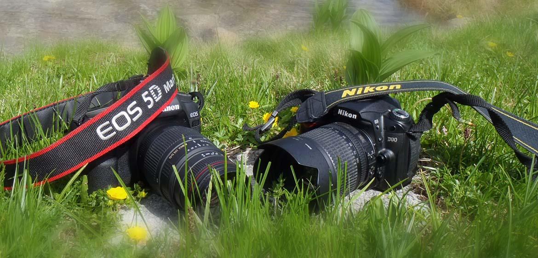 Nikon sau Canon 2 rivali puternici
